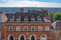 Farnhamkasteel in Surrey Stock Afbeeldingen