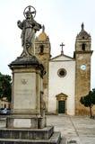 Farni święty Cosme i Damia kościół w Pina na Mallorca, Hiszpania (1853) fotografia royalty free