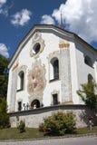 Farny kościół Anras kasztel, Anras, Austria Obrazy Stock