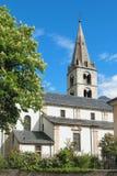 Farny kościół matka bóg Martigny, Valais, Szwajcaria Zdjęcie Stock