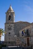 Farny kościół San Pedro obrazy stock