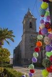 Farny kościół San Pedro w Sabiote fotografia royalty free