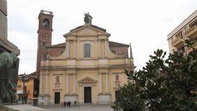 Farny kościół w Garlasco, PV, Włochy zdjęcie wideo