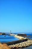 Faro 04 de Chania foto de archivo