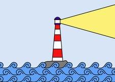 Faro illustrazione di stock