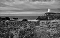 Faro abbandonato Fotografia Stock