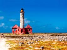Faro abbandonato Immagini Stock