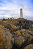 Faro, Akranes, Islanda Fotografia Stock