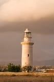 Faro al tramonto Immagine Stock Libera da Diritti