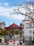 FARO, ALGARVE/PORTUGAL MERIDIONAL - 7 DE MARZO: Vista del Bandstan fotos de archivo