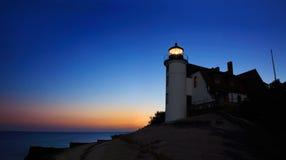 Faro all'alba… Fotografia Stock Libera da Diritti