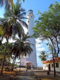 Faro all'isola di Minicoy Fotografie Stock Libere da Diritti