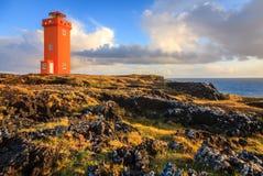 Faro anaranjado Imagen de archivo