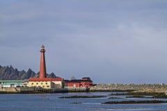 Faro in Andenes immagini stock libere da diritti