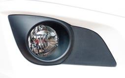 Faro antinebbia moderno dell'automobile Fotografia Stock Libera da Diritti