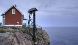 Faro baltico Fotografia Stock Libera da Diritti