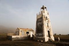 Faro Barril, Capo Verde Fotografia Stock