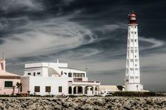 Faro, blanco Fotos de archivo libres de regalías