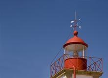 Faro a Cabo Carvoeiro, Algarve, Portogallo Immagine Stock Libera da Diritti