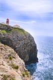 Faro: cabo San Vicente, Algarve portugal Foto de archivo libre de regalías