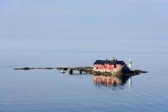 Faro-casa imagen de archivo libre de regalías