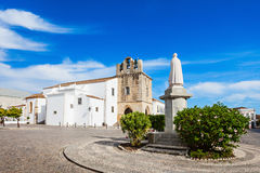 Faro Cathedral. The Cathedral of Faro (Se de Faro) is a Roman Catholic cathedral in Faro, Portugal Royalty Free Stock Photography
