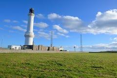 Faro con el cielo azul Imagen de archivo libre de regalías