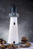Faro, concetto naturale del mare Fotografie Stock