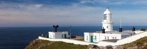 Faro Cornualles de Pendeen foto de archivo libre de regalías