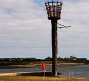 Faro costero Foto de archivo