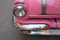 Faro d'annata dell'automobile Fotografia Stock Libera da Diritti