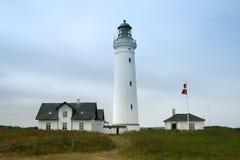 Faro in Danimarca Immagini Stock