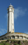 Faro de Alcatraz Imágenes de archivo libres de regalías