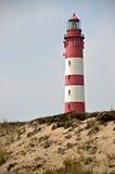 Faro de Amrum Imagen de archivo libre de regalías
