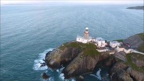 Faro de Baily Howth irlanda metrajes