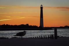 Faro de Barnegat en New Jersey imágenes de archivo libres de regalías