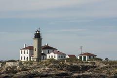 Faro de Beavertail, Newport, RI Imagenes de archivo