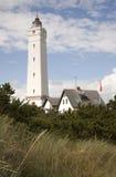 Faro de Blaavand Foto de archivo libre de regalías