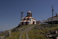 Faro de Bonavista del cabo Imagen de archivo
