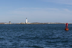 Faro de Boston Fotos de archivo