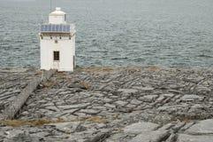 Faro de Burren, Co.Clare - Irlanda Imágenes de archivo libres de regalías