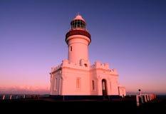 Faro de Byron Fotografía de archivo