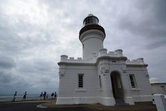 Faro de Byron del cabo Cabo Byron Nuevo Gales del Sur australia foto de archivo