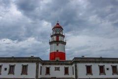 Faro de Cabo Silleiro fotografía de archivo libre de regalías