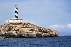 Faro de Cala Figuera Foto de archivo