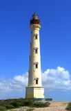 Faro de California en Aruba Fotos de archivo
