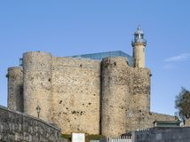Faro de Castro Urdiales imagen de archivo