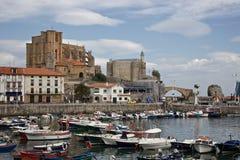Faro de Castro-Urdiales imagen de archivo libre de regalías