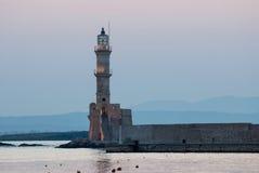 Faro de Chania. fotografía de archivo