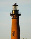 Faro de Currituck en Currituck, Carolina Outer Banks del norte Foto de archivo
